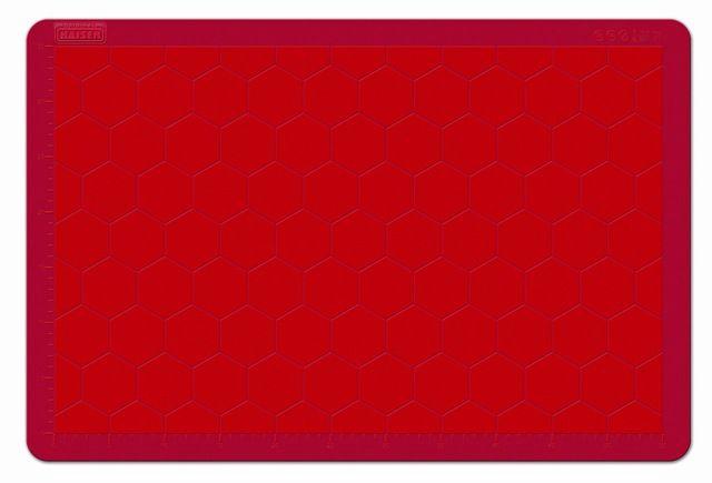 Kaiser Baking Rug Silicone Kaiserflex Red 40x30cm