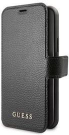 Guess Iridescent Book Case For Apple iPhone 12/12 Pro Black