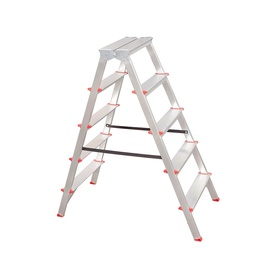 HausHalt C04CNP/05 Double-Sided 5-Steps Ladders