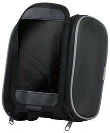 "Etui MB1 Dual Zipper Pocket Bike Frame Bag with Universal 5.5"" Smartphone Top Holder Case"