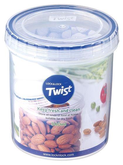 Lock&Lock Food Container Twist 560ml Screwed