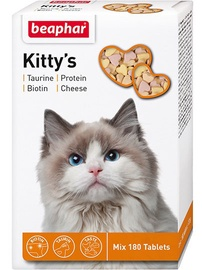 Beaphar Kittys Mix with Fish Cheese and Taurine 180pcs