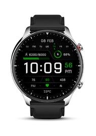 Умные часы Xiaomi Amazfit GTR 2 Stainless Steel, черный/серый