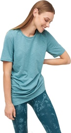 Audimas Light Dri-Release Tshirt Oil Blue XS