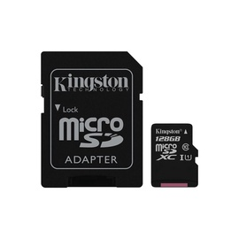 Kingston Canvas Select microSDXC 128GB UHS-I Class 10 + SD Adapter