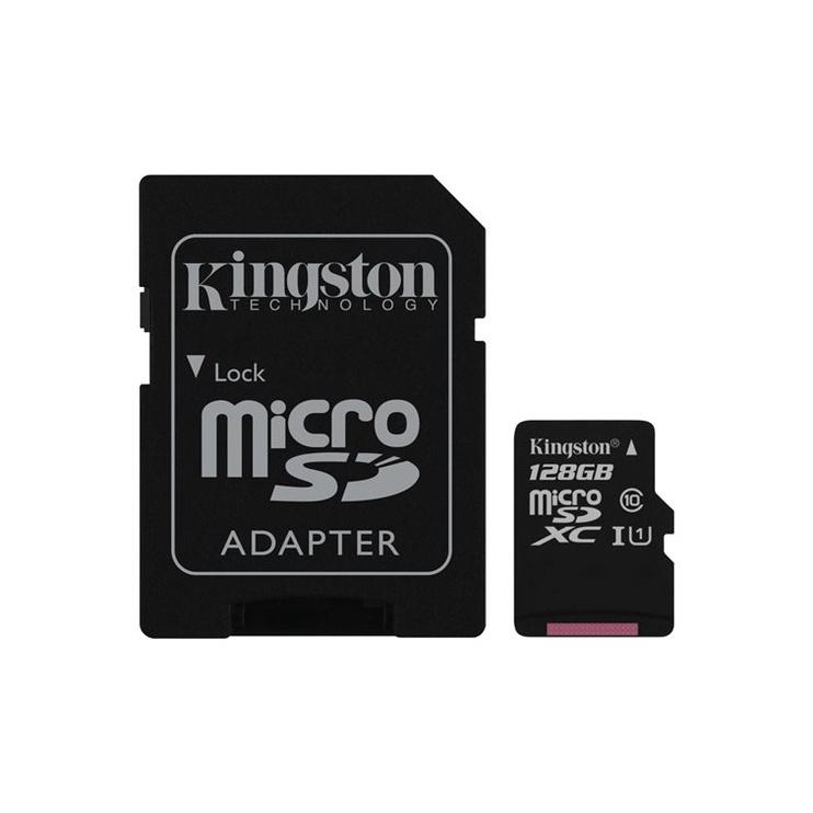 MÄLUKAART  KINGSTON MICROSD C10 SDCS/128