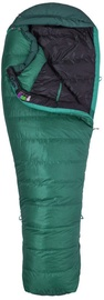 Magamiskott Marmot Palisade Regular LZ Green, vasak, 211 cm