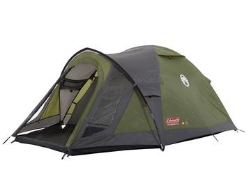 3-местная палатка Coleman Darwin 3 Plus 2000012149, зеленый/серый
