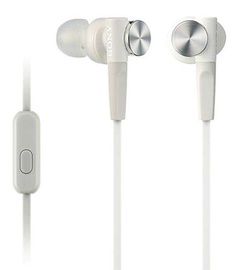 Kõrvaklapid Sony XB50AP Extra Bass In-Ear White