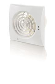Vents Quiet 100 Bathroom Extractor Fan 100mm White