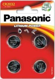 Patarei Panasonic Lithium CR2032/4B 4tk
