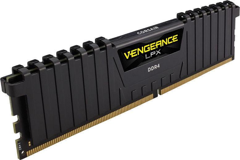 Corsair Vengeance LPX Black 8GB 3733MHz CL17 DDR4 KIT OF 2 CMK8GX4M2B3733C17