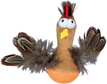 Trixie 45787 Bobo Chicken with Feathers and Sound 10cm