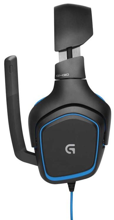 Mänguri kõrvaklapid Logitech G430 Black/Blue