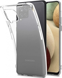 Just Must Silicone Case for Samsung Galaxy A12 Clear