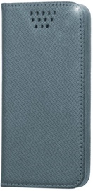 "GreenGo Universal Smart Book Case 5.5-5.7"" Grey"