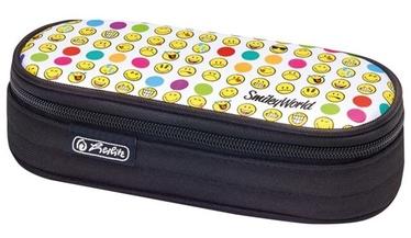 Herlitz Pencil Pouch Oval Smileyworld Rainbow