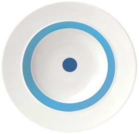"ViceVersa Soup Plate ""The Dot"" 23.5cm Blue"
