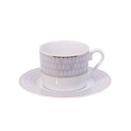 Domoletti Jenny Cup And Saucer White 250ml/16cm