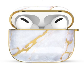 Kingxbar Jade Protector Case For Apple AirPods Pro White