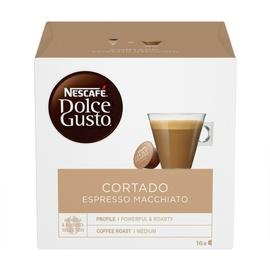 Kohvikapslid Nescafe Dolce Gusto Cortado Espresso Macciato, 101 g., 16 tk.