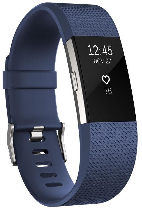 Fitbit Charge 2 Small Blue/Silver
