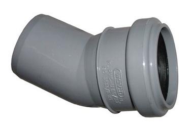 Wavin Elbow Pipe Grey 30° 40mm