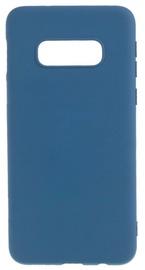 Evelatus Soft Touch Back Case For Samsung Galaxy S10e Dark Blue