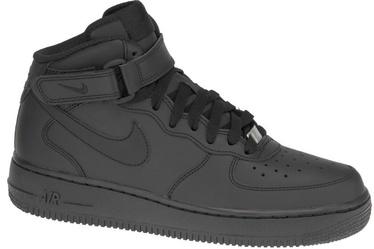 Nike Sneakers Air Force 1 MID Gs 314195-004 Black 35.5