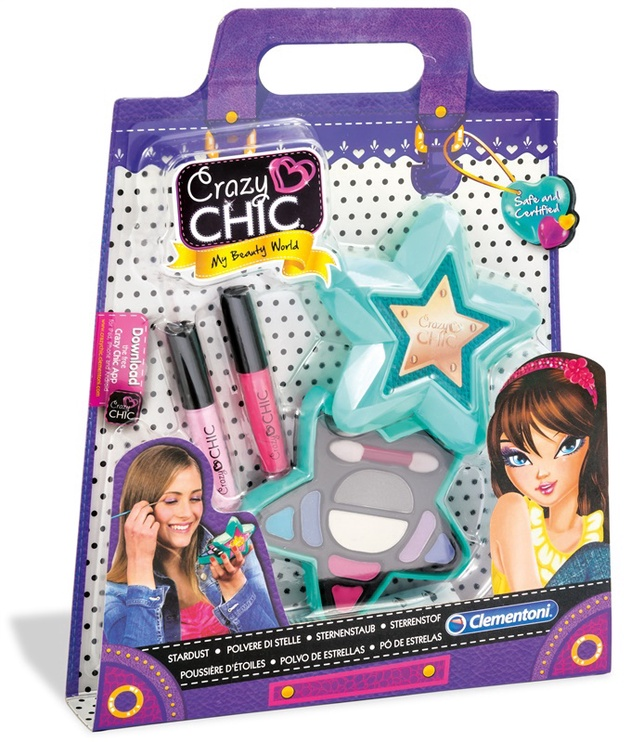 Kosmeetikakomplekt Clementoni Crazy Chic lastele 15961
