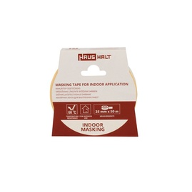 HausHalt Masking Tape For Indoor Application 25mm 50m