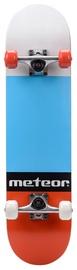 Meteor Salty Skateboard White/Blue/Red 22649