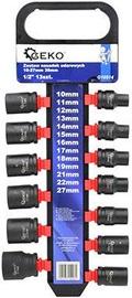"Geko G10514 Impact Sockets Set 1/2"" 10-27mm 13pcs"