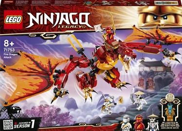 Konstruktor LEGO Ninjago Fire Dragon Attack 71753, 563 tk