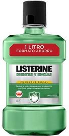 Listerine Fresh Mint Teeth And Gum Defence Mouthwash 1000ml