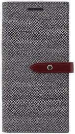 Mercury Milano Book Case For Samsung Galaxy S8 Plus Grey