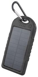 Forever PB-016 Solar Power Bank Waterproof Black