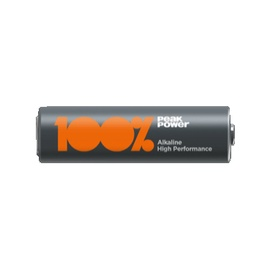 100% PeakPower PP24A-U4 LR3 1.5V Battery 4pcs