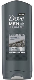 Dove Men Char & Clay Shower Gel 400ml