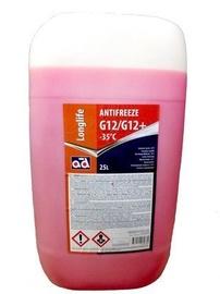 AD Antifreeze AD -35c G12/G12+ Red 25l