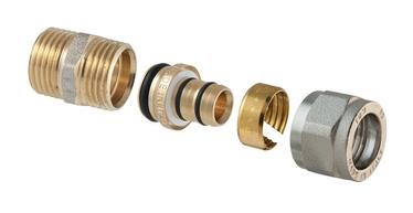 TDM Brass Demountable Threaded Head 3/4''x16mm 1430E