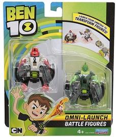 Playmates Toys Ben 10 Omni-Launch Battle Figures Refill Four Arms & Wildvine 76637