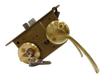 Vagner SDH Mortise Lock 2018 Brass