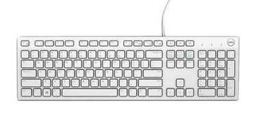 DELL KB216 Keyboard ENG White