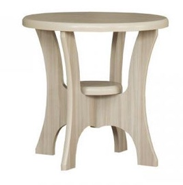 Bodzio S10 Round Coffee Table 60x60cm Latte