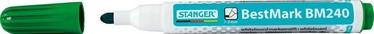 Stanger BestMark BM240 Whiteboard Marker 10pcs Green 321061