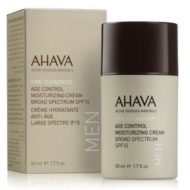 Näokreem Ahava Men Time To Energize Age Control Moisturizing Cream SPF15, 50 ml