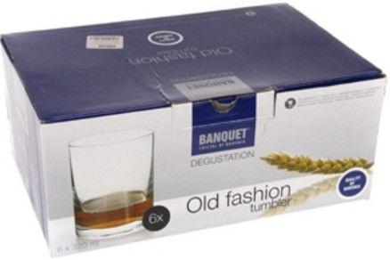 Banquet Old Fashion Tumbler Set 6pcs