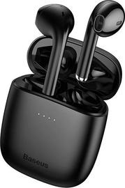 Kõrvaklapid Baseus W04 Pro Black, juhtmevabad