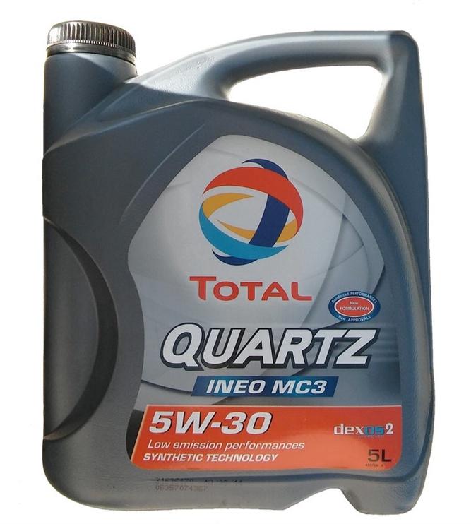 Mootoriõli Total Quartz Ineo MC3 5W30, 5l